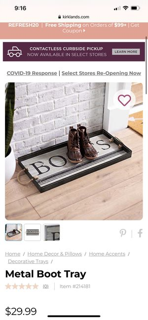 """Boots"" tray for Sale in Sioux Falls, SD"