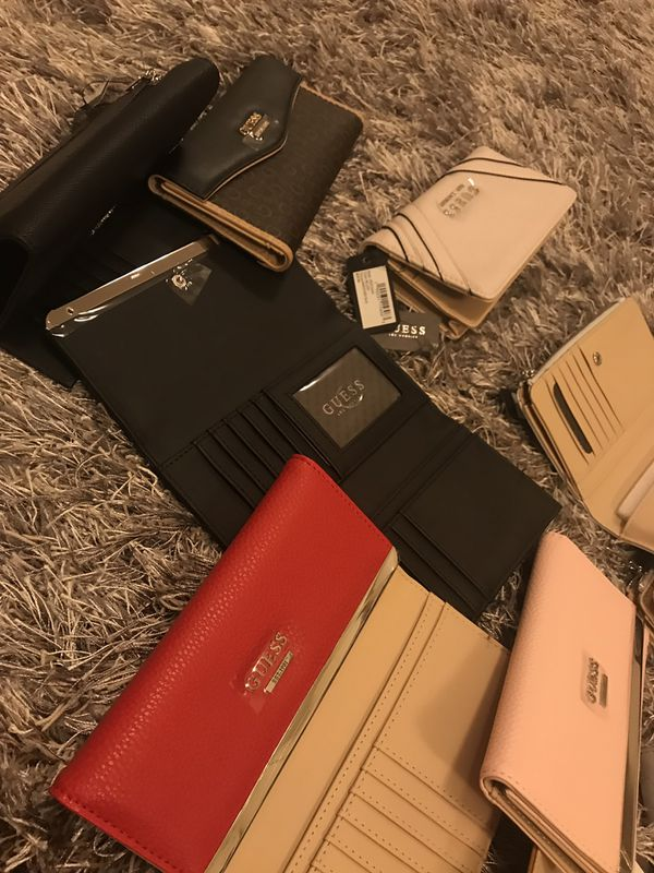 Guess faux leather iPhone wallet