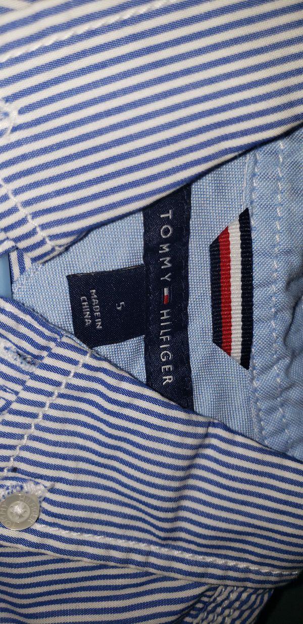 Boys size 5 Tommy Hilfiger Dress Shirt