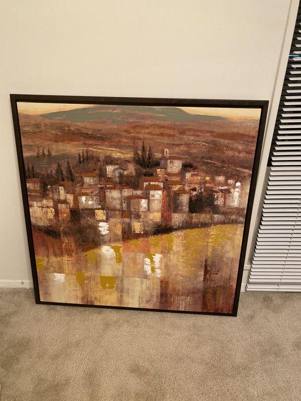 Very nostalgic art frame for wall