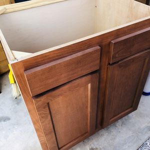 Kitchen Sink Cabinet Size 30w X 23 D New Regular Price $259.99 Plus Tax Now Only $175 No Tax New for Sale in Apple Valley, CA