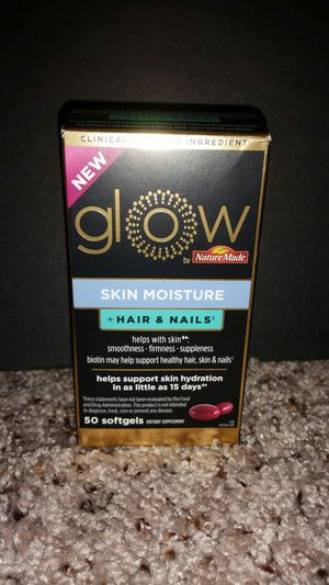 Nature Made Glow Skin Moisture + Hair and Nails for Sale in Tampa, FL