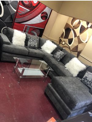 Franco sectional El Rio furniture finance available down payment $39 1456 belt line rd suite 121 Garland tx 75044 Open from 9:30-8:30 for Sale in Richardson, TX