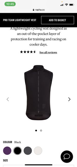RAPHA PRO TEAM CYCLING VEST GILET XL PERFECT CONDITION for Sale in Los Angeles, CA