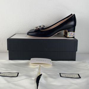 Gucci Madeleine Black Heel Pump Crystal for Sale in Los Angeles, CA