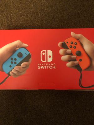 Brand new Nintendo switch for Sale in East Providence, RI