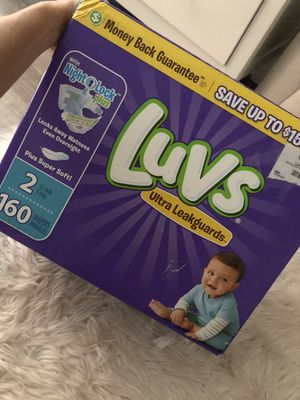 Size 2 diapers for Sale in Orlando, FL