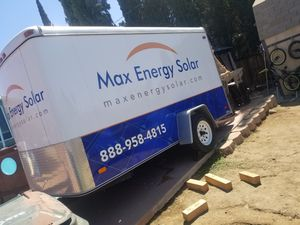 12x6x6 enclosed trailer traila for Sale in Highland, CA
