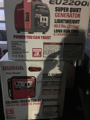 Generator 2800 and 2200 for Sale in Lafayette, IN