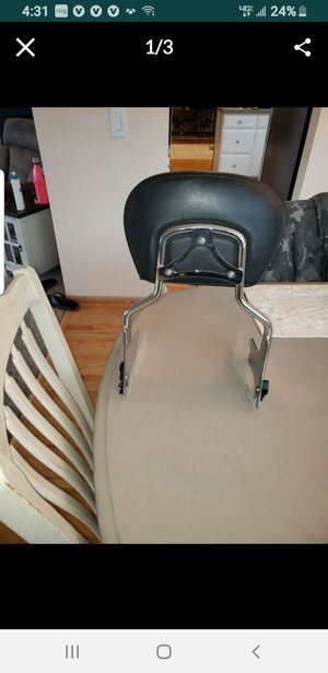 Backrest for harley for Sale in Federal Way, WA