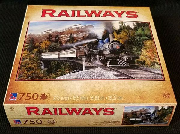 2012 Mountain Pass RAILWAYS Sure-Lox 750pc.