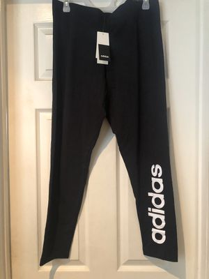 Woman's ADIDAS size XL leggings new with tags for Sale in Anaheim, CA