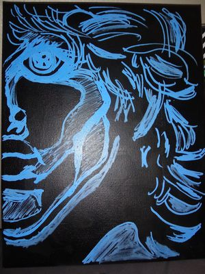 Jim morrison painting for Sale in Dayton, OH
