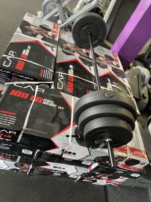 Weight set 100lb for Sale in South Gate, CA