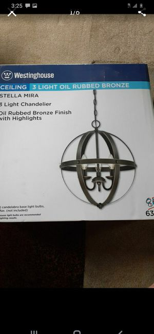 Westinghouse (3) light Ceiling Chandelier #63418 for Sale in Columbus, OH