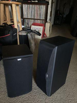 B&W 2 SPEAKERS for Sale in Merced, CA