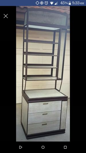 Shelf, storage, bakers rack for Sale in Del Sur, CA