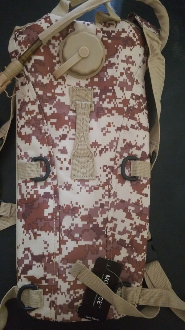 Brand new camo hydration backpacks