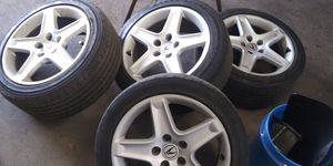 Acura tl wheels 250 firm need a few tires 17 inch Acura for Sale in Providence, RI