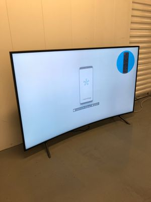 2019 SAMSUNG 55 INCH 4K CURVED HDR SMART TV! Delivery available, 6 month guarantee. Comes in original box! for Sale in Phoenix, AZ