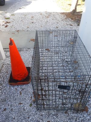 Dog training crate for Sale in St. Petersburg, FL