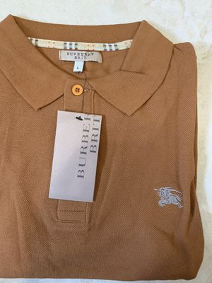 Burberry brit men's polo shirt short sleeves for Sale in Staten Island, NY