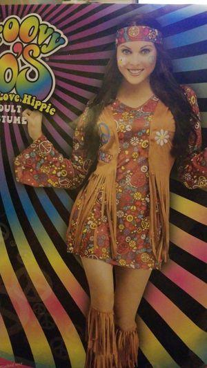 Women's Grovy 70's Hippie Halloween Costume for Sale in Austin, TX