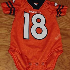 Denver Broncos Baby Onesie - 0/3 Months - Manning for Sale in Denver, CO