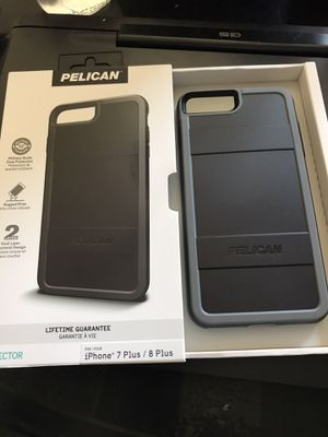 Pelican Case iPhone 7P 8P cell case brand new for Sale in Fresno, CA