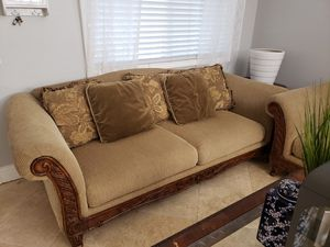 Couch/Sofa set $200 for both must pick up for Sale in Fontana, CA