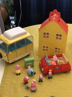 Peppa pig set for Sale in Annandale, VA