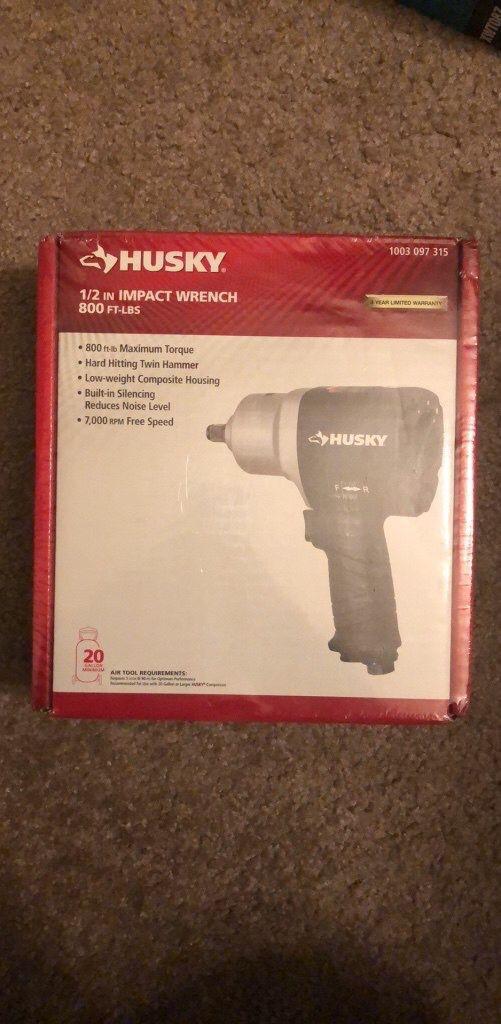 Husky impact wrench h4480