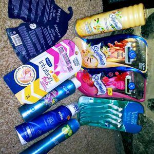 4 pack of RAZORS 1 shave cream 2 secret dry spray deodorant 2 Facial Masks $35 CASH~NO TRADES for Sale in Alexandria, VA