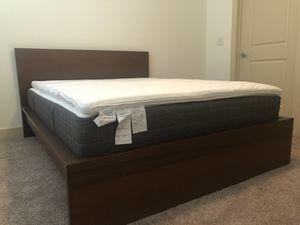 IKEA bed frame, mattress, mattress topper for sale for Sale in Denver, CO