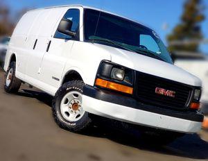 😀👉 2003 GMC Savana 3500 Cargo Van ~ Nice!! for Sale in Riverbank, CA