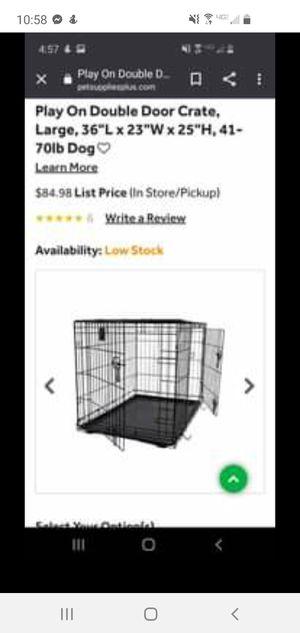 Dog cage for Sale in Jasper, MI