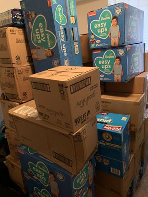 Huggies Brand 4t-5t; Pampers Brand 4t-5t;GoodNites Brand S/M (ALL BOY SIZES) for Sale in Washington, DC