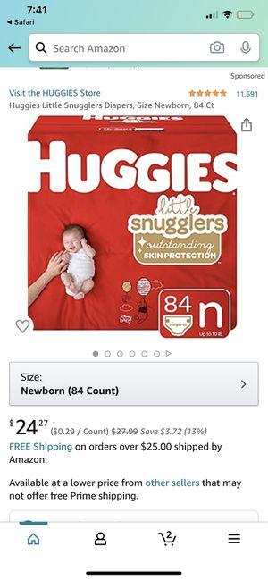 Huggies newborn for Sale in Norwalk, CA