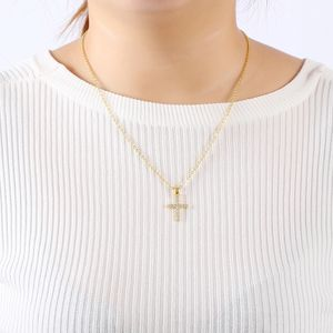 New Exquisite Bible Jesus Cross Pendant Necklace for Rhinestone Gold/Silver color women Crucifix Charm Jewelry for Sale in Aspen Hill, MD
