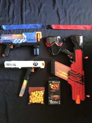 ***NERF GUN - RIVAL LOT OF 3 with tons of accessories**** for Sale in Pembroke Pines, FL