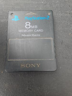 Original Sony PS2 memory card for Sale in Washington, DC
