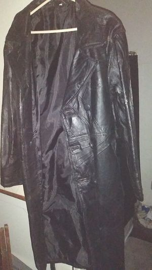 LEATHER DUSTER JACKET for Sale in San Diego, CA