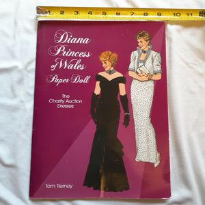 Vintage Princess Diana Paper Doll Book for Sale in Mesquite, TX