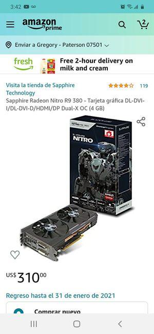 R9 380 nitro for Sale in Paterson, NJ