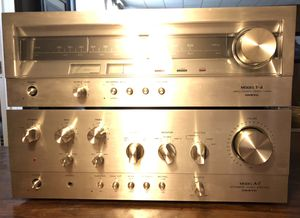 Onkyo A-7 Amp and T-4 Tuner for Sale in Wauconda, IL