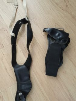 Two Holsters, 1 Shoulder Holster and 1Ankle Holster. Both Were used By For a 38 revolver. for Sale in Sebring,  FL