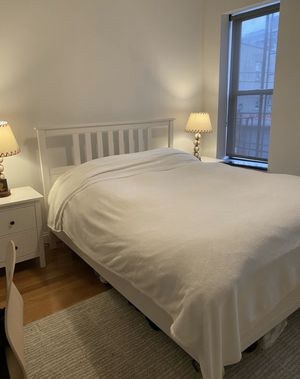 Bed frame + mattress (or separately) for Sale in New York, NY