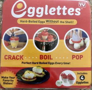 Egglet's egg cooker for Sale in Las Vegas, NV