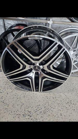 22x10 mercedes Benz AMG style wheel fits GL R and ML class 5x112 et48 wheel rim tire shop for Sale in Tempe, AZ