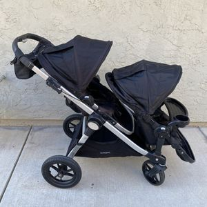 Baby Jogger City Select Double Seat Stroller for Sale in Fresno, CA